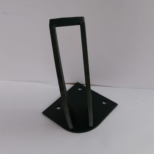 Metal Siyah Mobilya Ayağı