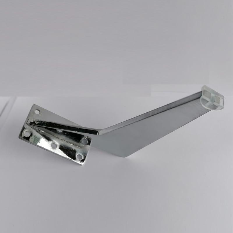 Tabanca Ayak 17 Cm Krom Metal Koltuk Ayağı